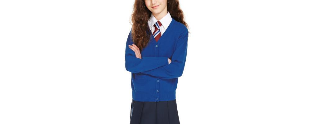 Cardigan escolar azulon - Uniformes escolares Pronens