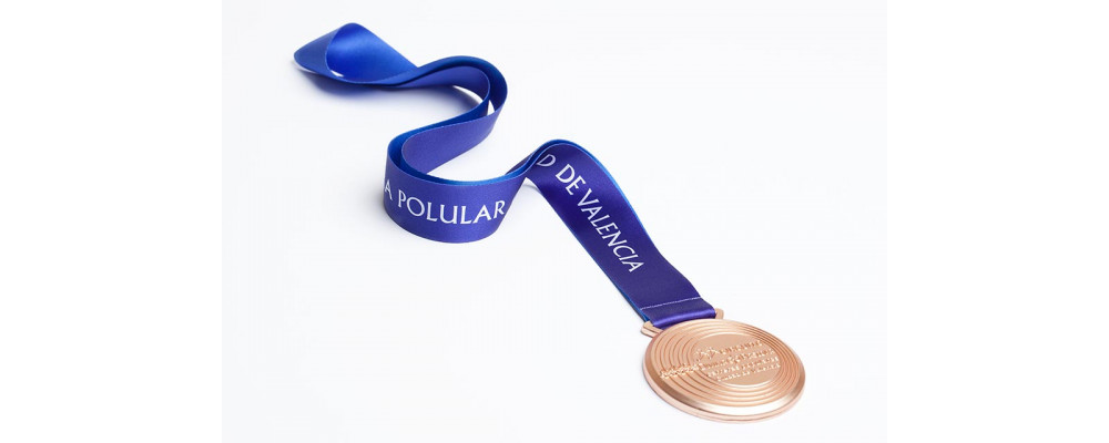 Cinta personalizada para medallas - Fabricante cintas personalizadas para medallas