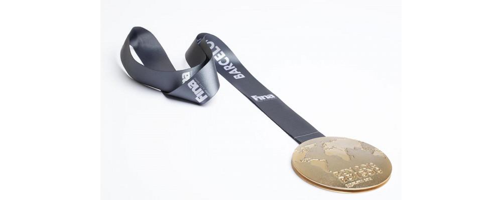 Fabricante de cinta para medallas personalizadas - Cintas para medallas Pronens