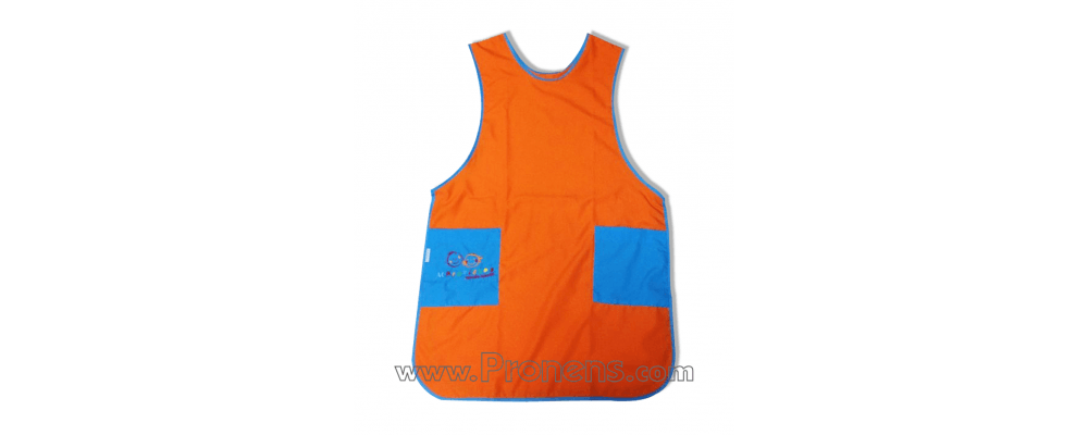 Delantal educadora - uniformes guarderia maestras1