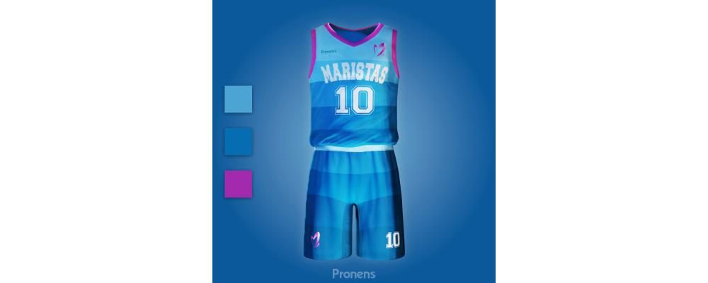 Fabricante de equipaciones escolares deportivas de baloncesto - Equipaciones deortivas Pronens Minmor