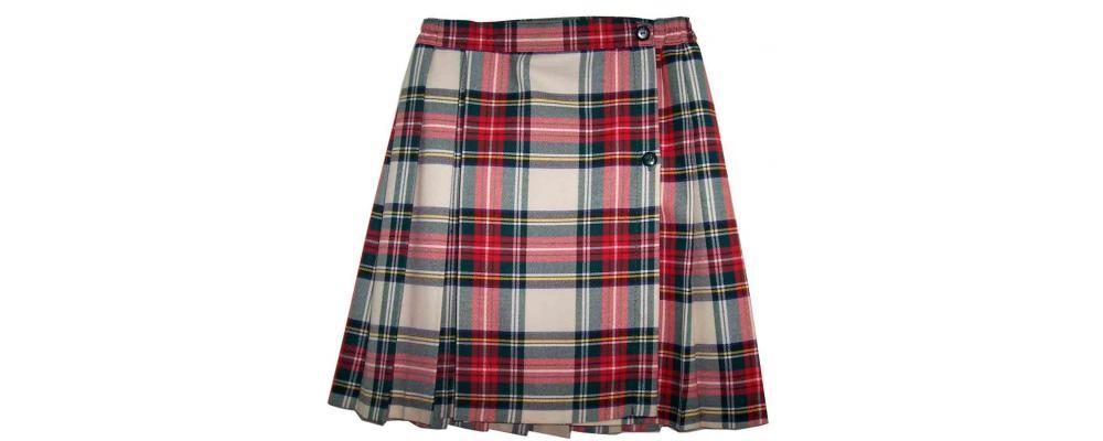 Falda colegial - Uniformes escolares Pronens