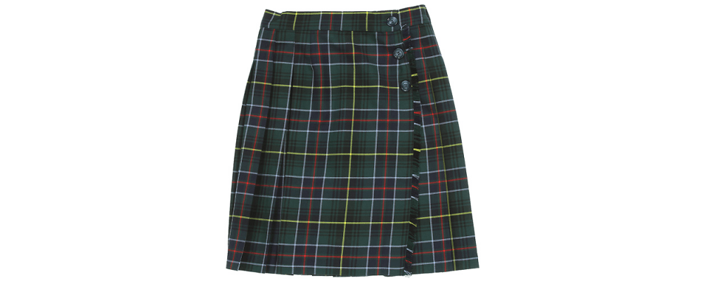 Falda escolar - Uniformes escolares Pronens
