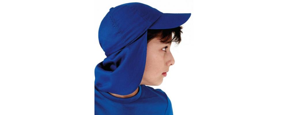 enfant Fabricant textile de Casquette avec protection personnalisées pour écoles et enterprises en France