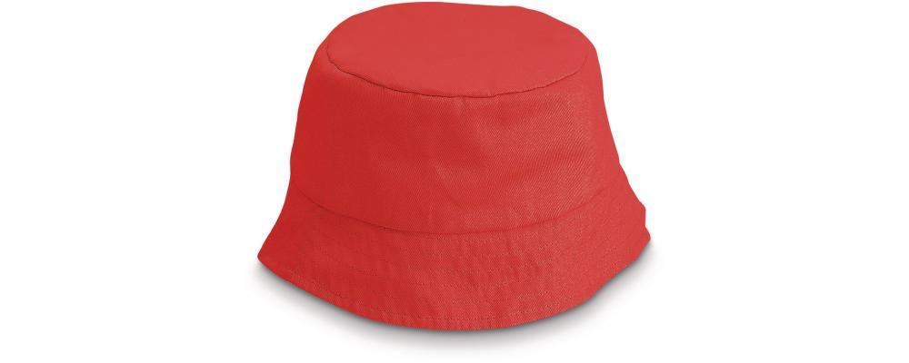 Gorro playero infantil rojo personalizado - Uniformes escuela infantil Pronens