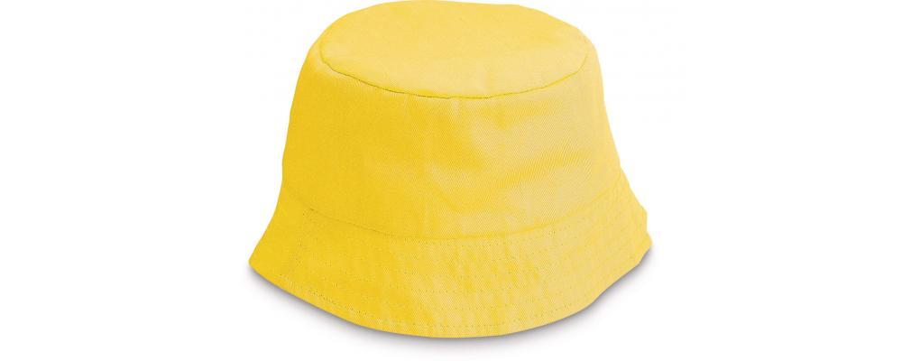 Gorro playero infantil amarillo personalizado - Uniformes escuela infantil Pronens