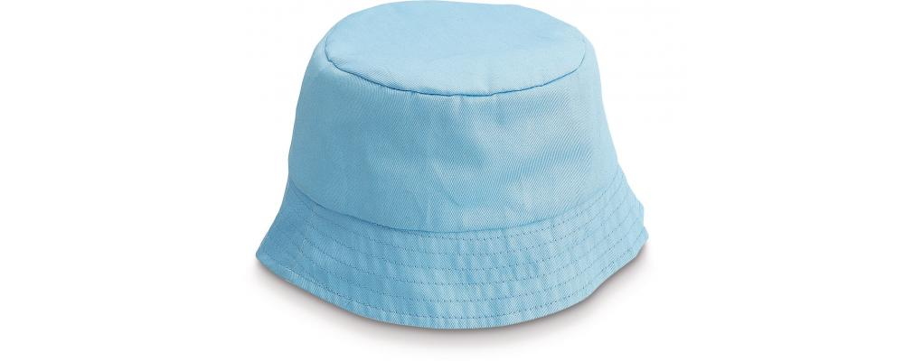 Gorro playero infantil azul personalizado - Uniformes escuela infantil Pronens
