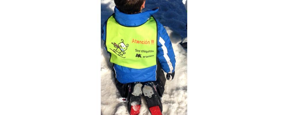 Petos ski infantiles para estaciones de ski y clubs de ski