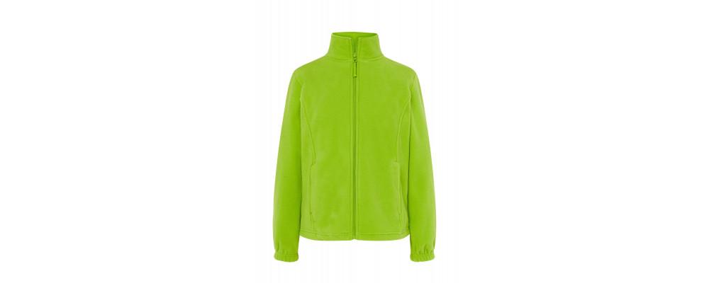 Forro polar personalizado verde pistacho - Fabricante de forro polar personalizado PRONENS
