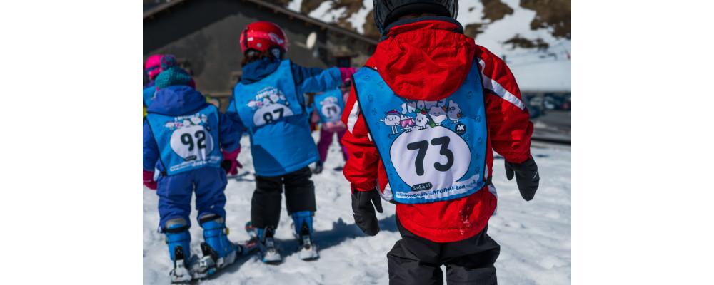 Chasuble ski personnalisés pour enterprises, stations de ski, clubs sportifs - Dossard ski PRONENS