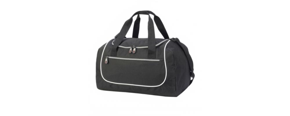 Bolsa deporte personalizada Rhodes negra - Bolsas deporte Pronens