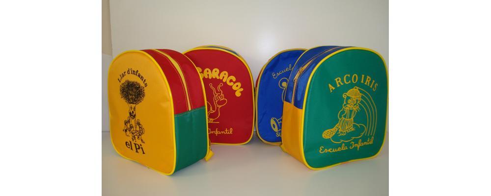 Mochilas guarderías y mochilas escolares Pronens 7