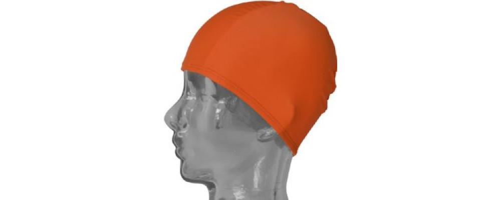 Fabricante gorros piscina infantil naranja para colegios y escuela infantil - Gorros piscina Pronens