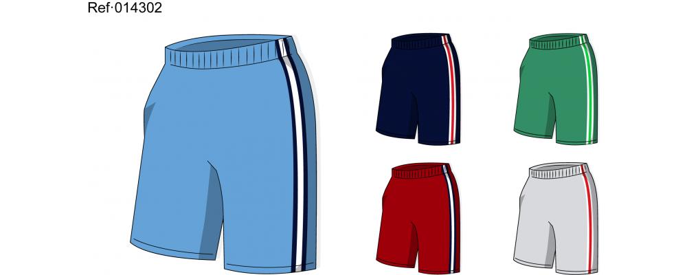 Pantalón deporte colegio 14302 - Fabricante equipaciones deportivas escolares