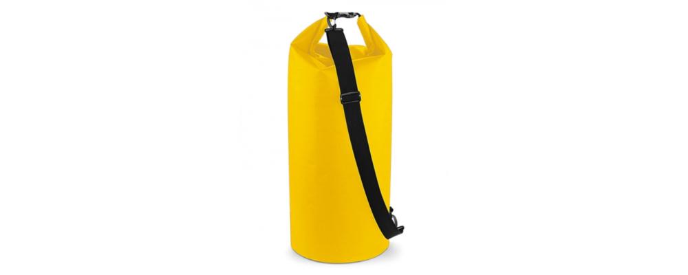 Petate impermeable amarillo - Bolsas deporte personalizadas Pronens