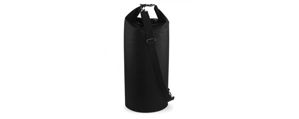 Petate impermeable negro - Bolsas deporte personalizadas Pronens