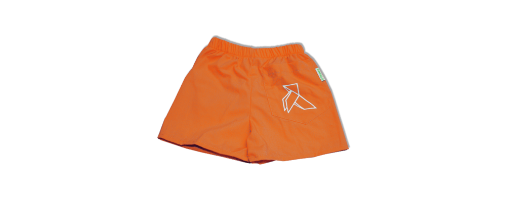 Pantalon guarderia naranja - uniformes guarderia Barcelona 1
