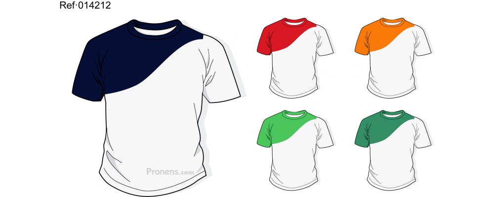 Camiseta escolar personalizada para uniformes escolares Ref.014212 - Camisetas escolares Pronens