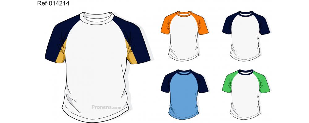 Camiseta colegio personalizada para uniformes escolares Ref.014214 - Camisetas escolares Pronens