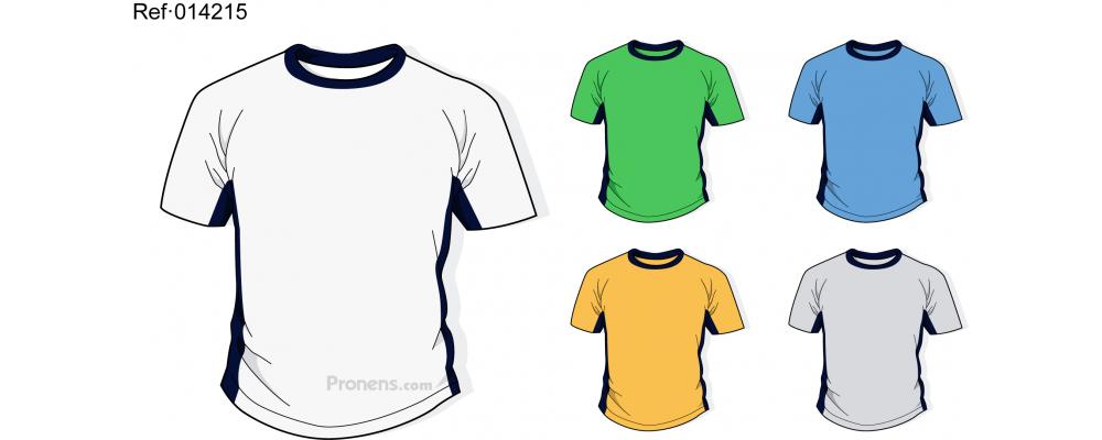 Camiseta colegio personalizada para uniformes escolares Ref.014215 - Camisetas colegio Pronens