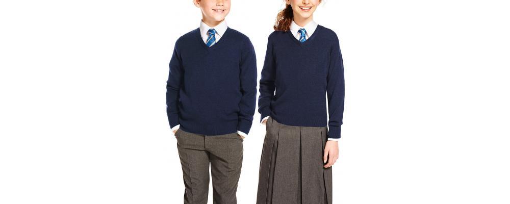 Jersey escolar azul marino - Jerseys escolares Pronens