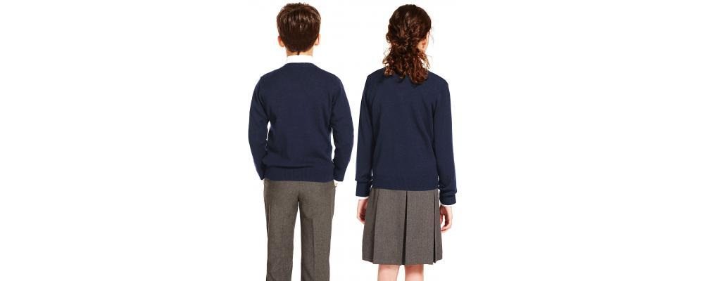 Jersey escolar azul marino - Uniformes escolares Pronens