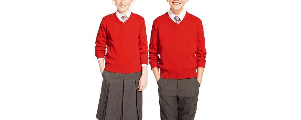 jersey escolar rojo - jerseys escolares Pronens