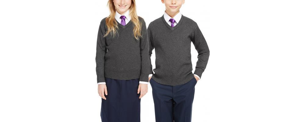 Jersey escolar personalizado gris - Jerseys escolares Pronens