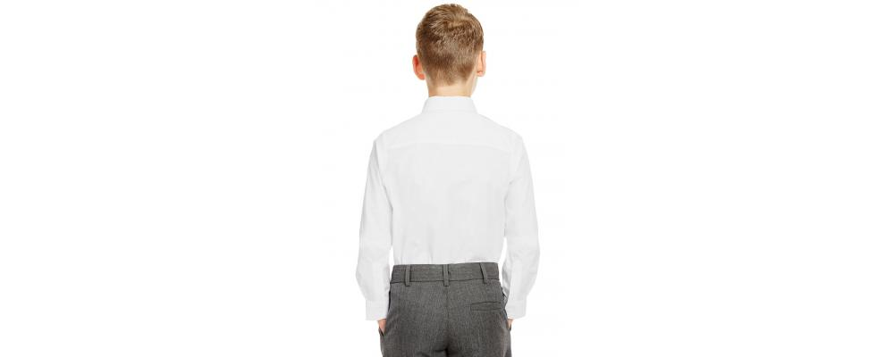 Espalda camisa colegial - Camisas escolares Pronens