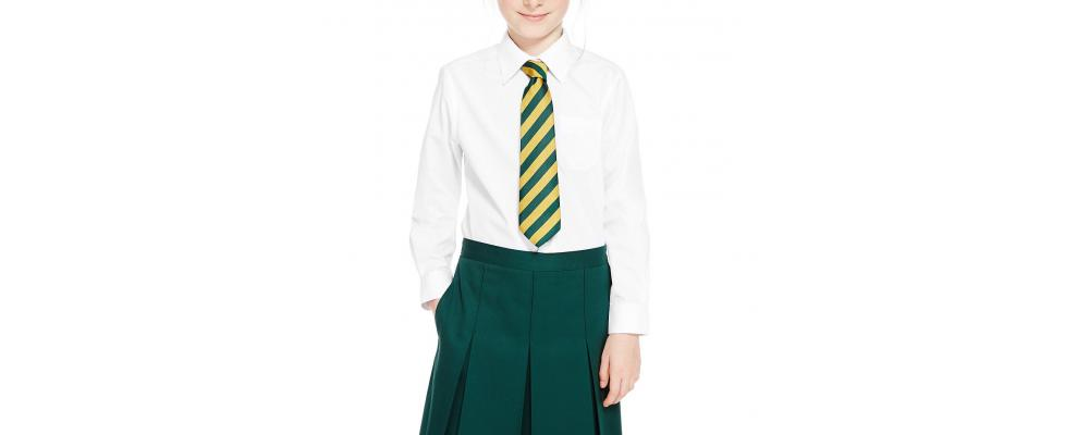 camisa colegial chica - Uniformes escolares Pronens
