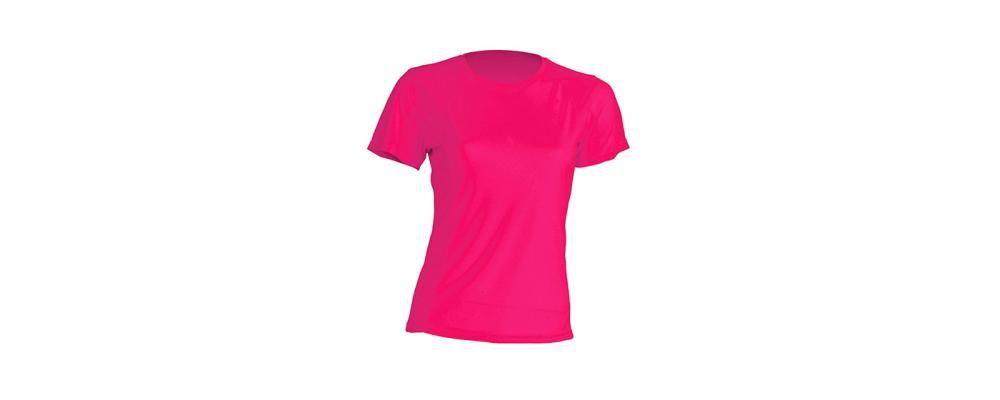 Camiseta tecnica fucsia - Uniformes escolares Pronens