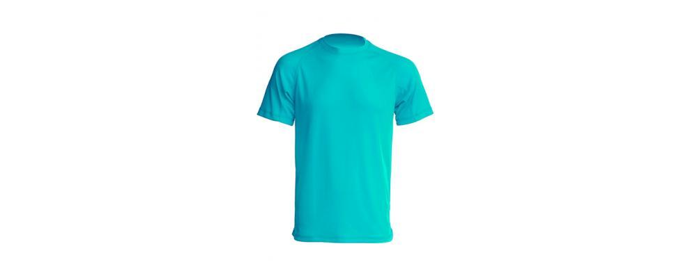 Camiseta tecnica turquesa - Uniformes escolares Pronens