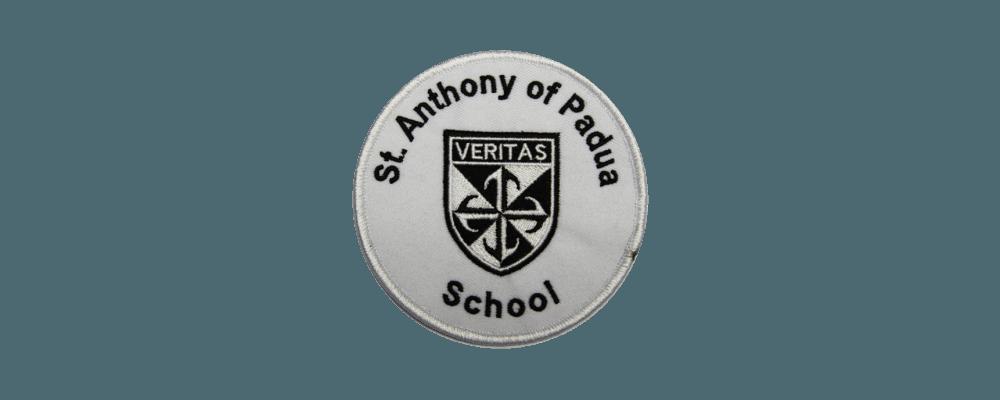Fabricación de parches bordados para colegios, escuelas, clubs, universidades 2