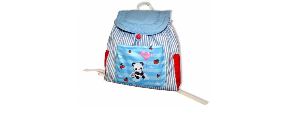 Fabricación de mochilas personalizadas para la guardería