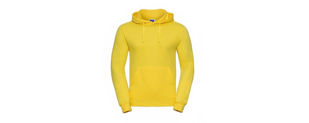 Sudadera capucha amarillo personalizada - Uniformes educadoras infantiles Pronens