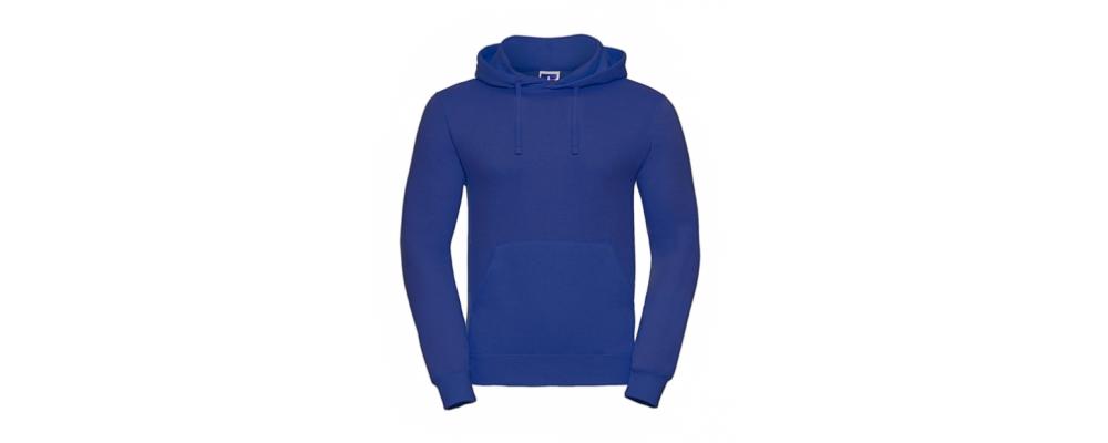 Sudadera capucha azulón personalizada - Uniformes educadoras infantiles Pronens
