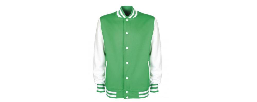 Chaqueta universitaria verde - Chaqueta universitaria Pronens