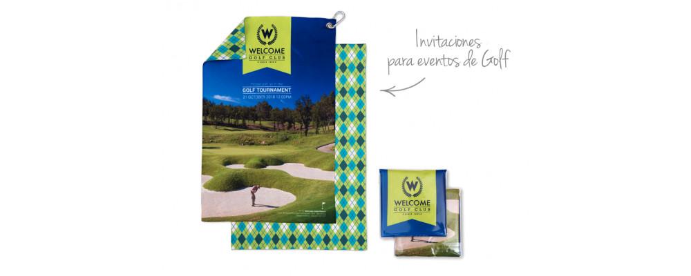Fabricante de toallas de microfibra deportivas personalizadas para asociaciones y clubes de golf - Toallas Microfibra Pronens