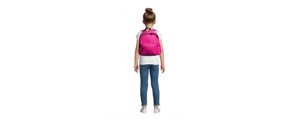 Fabricante de mochilas infantiles personalizadas para empresas y colegios - fucsia