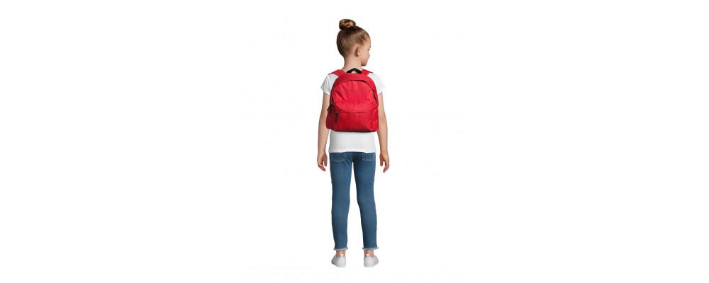 Fabricante de mochilas infantiles personalizadas para empresas y colegios - rojo
