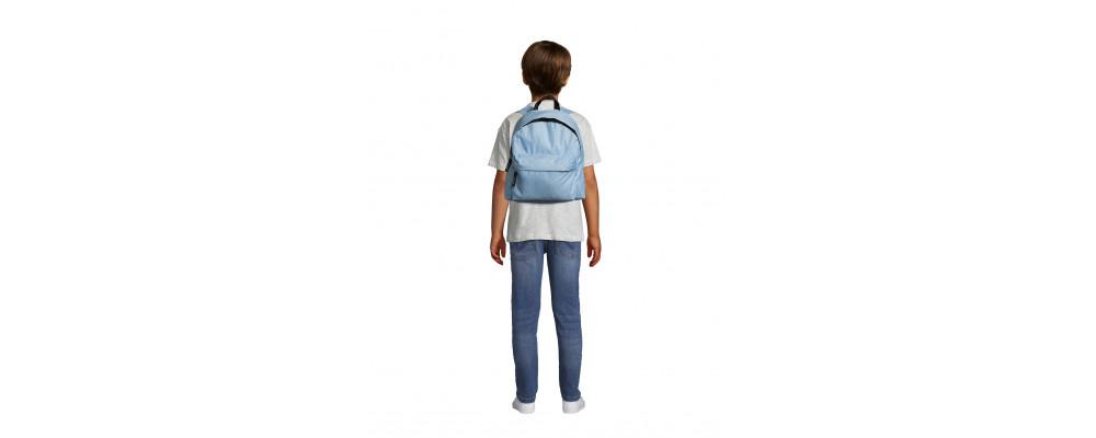 Fabricante de mochilas infantiles personalizadas para empresas y colegios - azul celeste