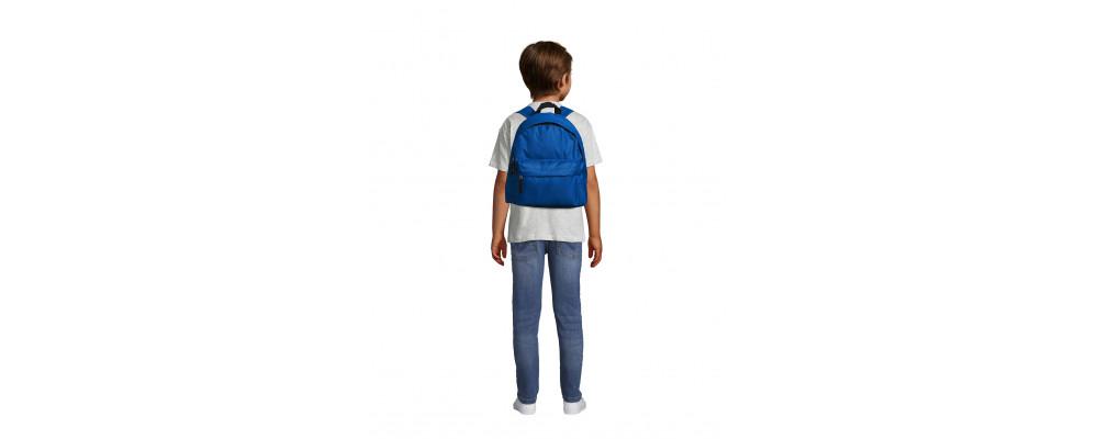 Fabricante de mochilas infantiles personalizadas para empresas y colegios - azul royal