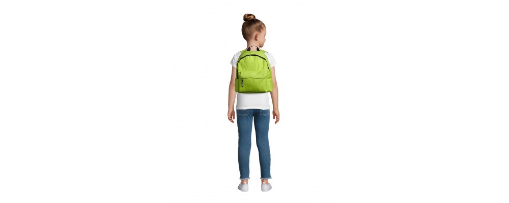 Fabricante de mochilas infantiles personalizadas para empresas y colegios - verde pistacho