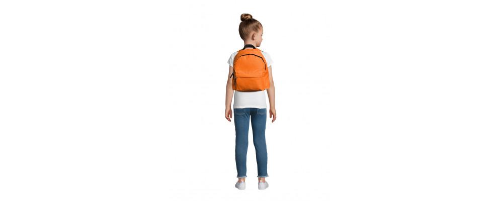 Fabricante de mochilas infantiles personalizadas para empresas y colegios - naranja
