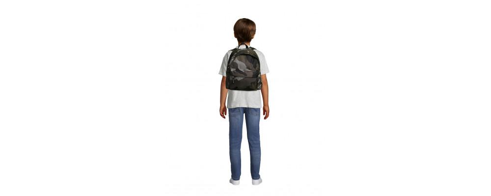 Fabricante de mochilas infantiles personalizadas para empresas y colegios - camuflaje