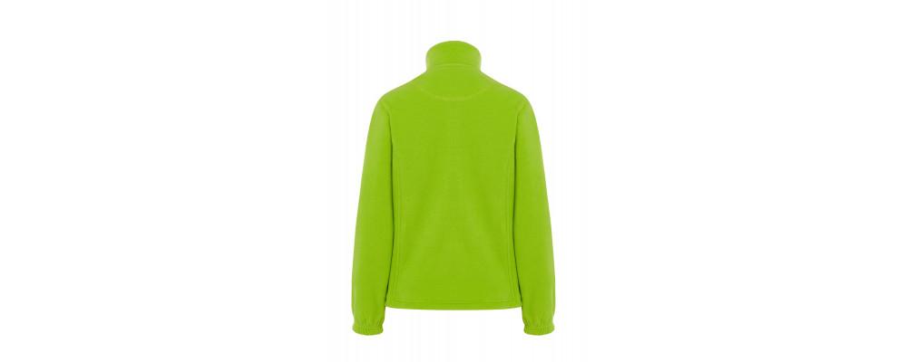 Espalda Forro polar personalizado verde pistacho - Fabricante de forro polar personalizado PRONENS