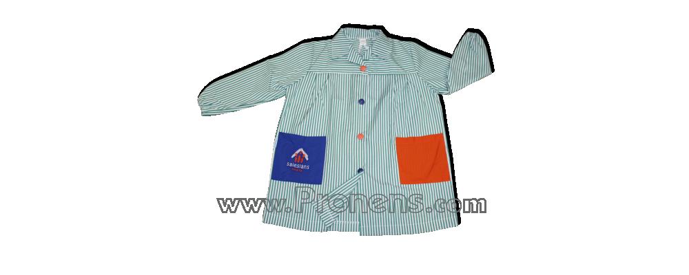 batas babys escolares botones  - uniformes escolares 4